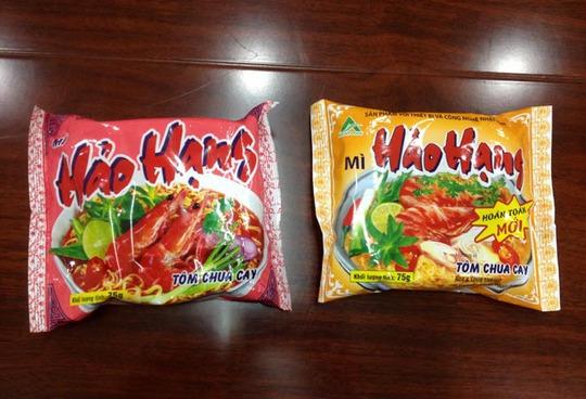 Mì Hảo Hạng - Tôm chua cay của Asia Foods. Ảnh: T. Nhân