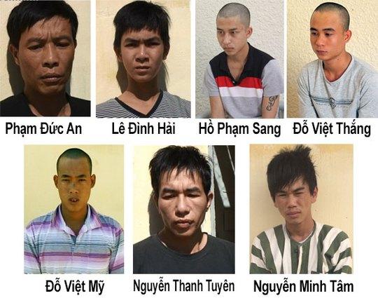 Tóm gọn nhóm cướp giả danh cảnh sát hình sự