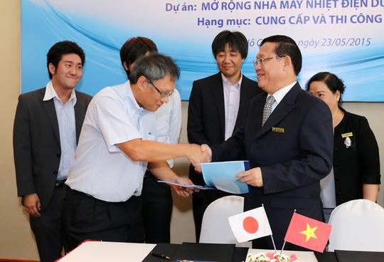Phan Vũ) ký kết hợp đồng cung cấp và thi công cọc cho dự án Nhiệt điện Duyên Hải 3 phần mở rộng