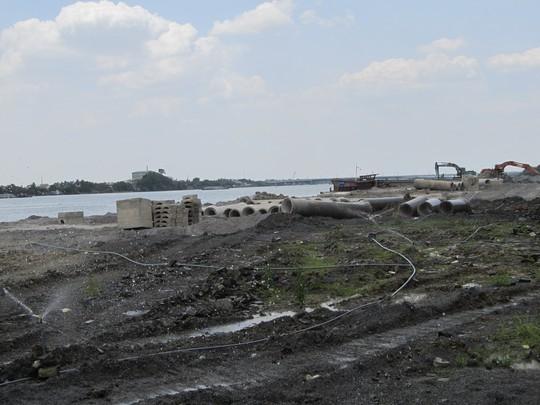 Dự án lấn sông hoành tráng của công ty Toàn Thịnh Phát.