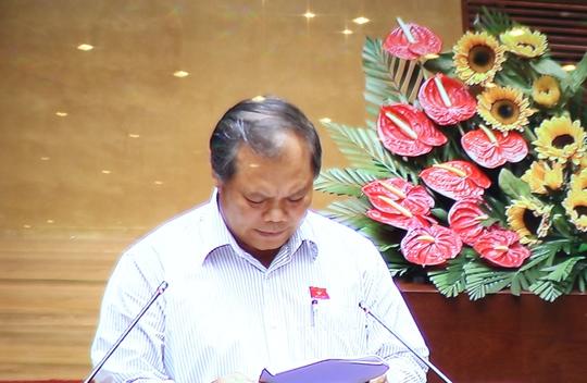Chủ nhiệm Ủy ban Pháp luật Phan Trung Lý: Không nhất thiết hạn chế độ dài của tên