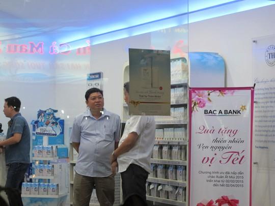 Cửa hàng TH Truemart, số 13 Hoàng Hoa Thám, Tân Bình, nơi xảy ra vụ nữ nhân viên bị đâm trọng thương