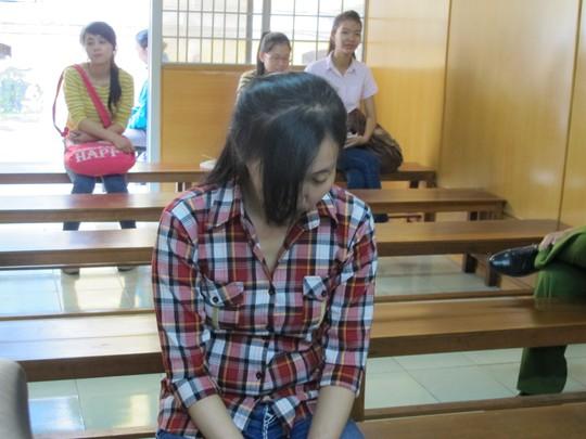 Trần Thị Thùy Trang tại tòa sơ thẩm