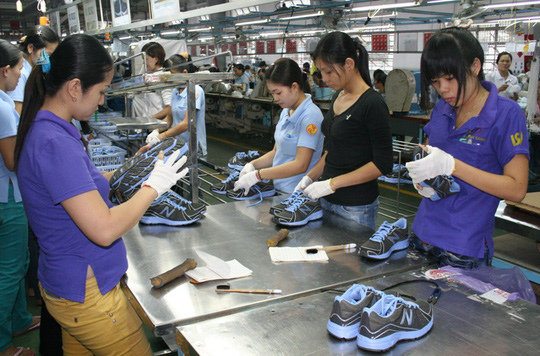 Các khoản phụ cấp ngoài công nhân được hưởng chiếm 1/4 đến 1/3 tổng thu nhập ẢNH: KHÁNH AN