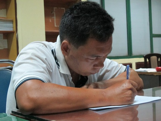Quan Chí Hào tại công an