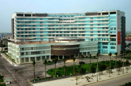 Khách sạn Lam Kinh - Thanh Hóa, nơi 16 đối tượng đang dùng thuốc lắc thì bị công an bắt quả tang