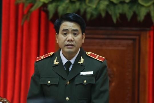 Giám đốc Công an Hà Nội, Thiếu tướng Nguyễn Đức Chung