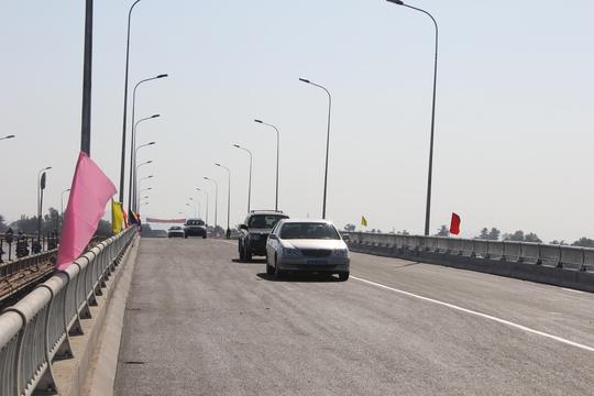 Cầu mới được khánh thành, giải tỏa áp lực vận tải cho Quốc lộ 20