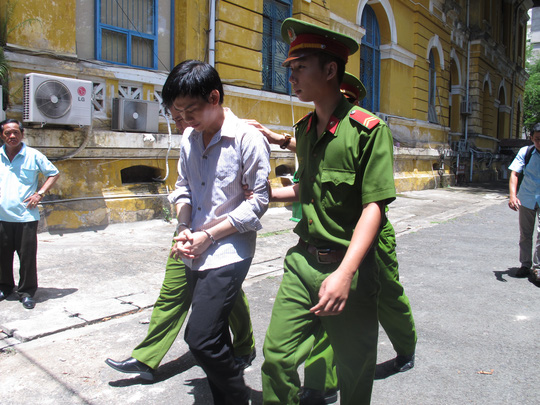 Bị cáo Nguyễn Hữu Lợi