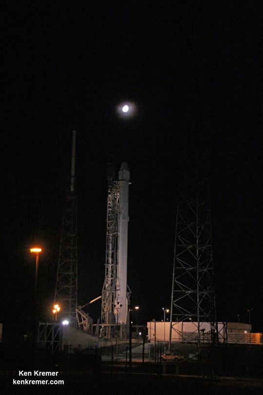 Bệ phóng ở trạm không quân Cape Canaveral. Ảnh: kenkremer.com