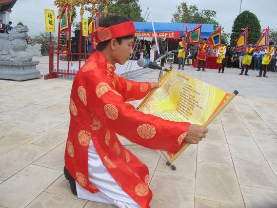 Đọc Chúc Văn ca ngợi công lao các vua nhà Mạc với sự phát triển văn hóa- giáo dục- đào tạo nhân tài