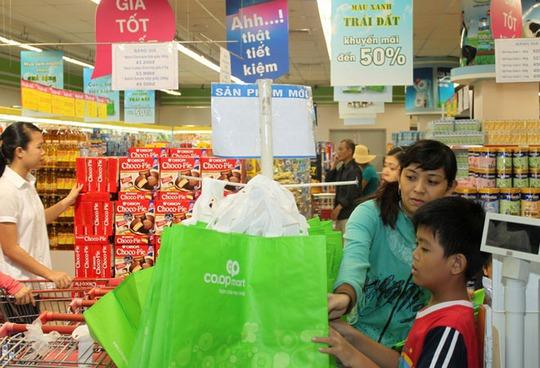 Hệ thống bán lẻ của Saigon Co.op hưởng ứng tích cực chiến dịch Giờ Trái đất