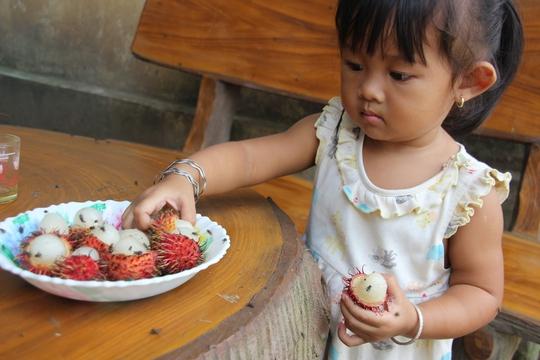 Những đứa trẻ thường xuyên bị tiêu chảy.