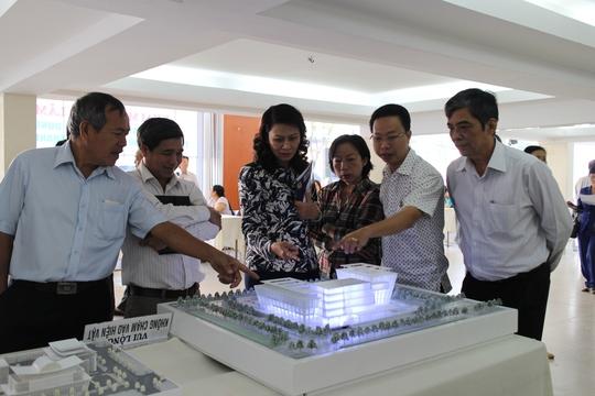 Lãnh đạo LĐLĐ TP HCM đánh giá các đồ án thiết kế