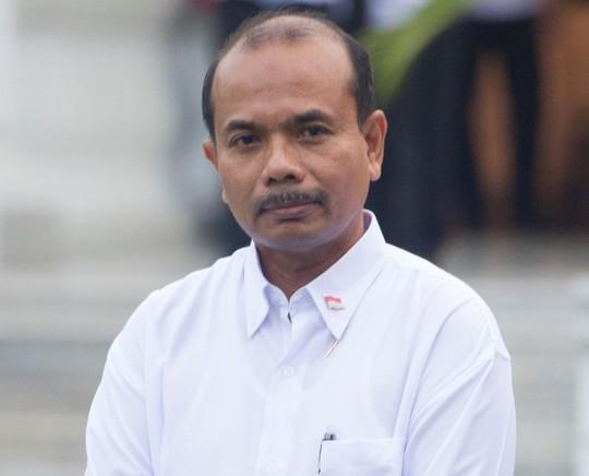 Bộ trưởng Bộ Kế hoạch Phát triển Quốc gia Indonesia Andrinof Chaniago Ảnh: THE JAKARTA POST
