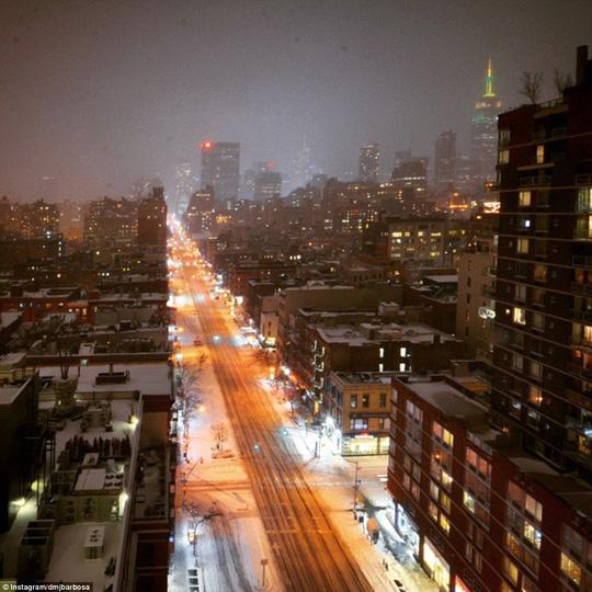 Đường phố ở Manhattan Ảnh: DAILY MAIL