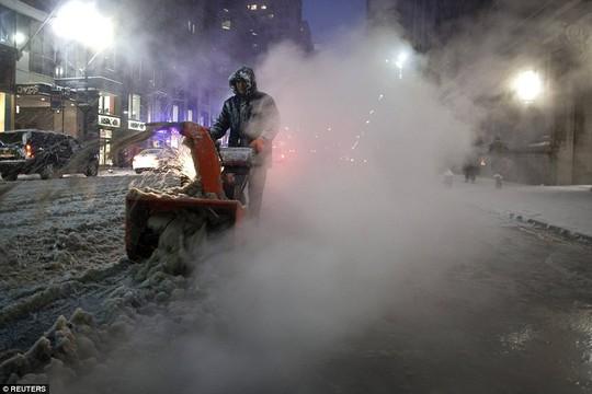 Ít nhất 28 triệu người sẽ đối mặt với điều kiện thời tiết khắc nghiệt hơn vào ngày 27-1. Ảnh: REUTERS