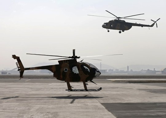 Thủ phạm được cho là một binh lính Afghanistan. Ảnh: REUTERS