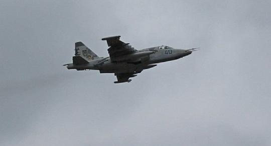 Su-25 military jet