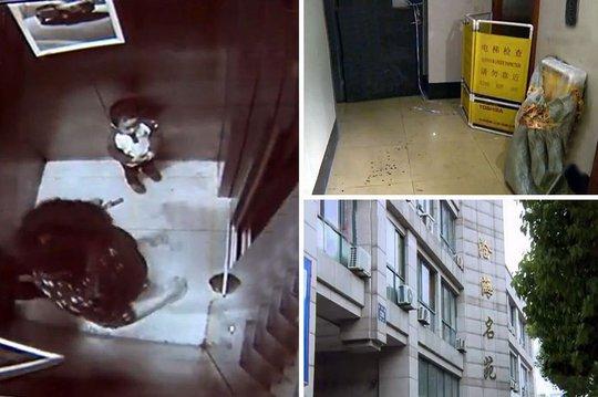 Do các tầng trong tòa chung cư không có camera giám sát nên cảnh sát không rõ chuyện gì đã thực sự xảy ra. Ảnh: THE MIRROR