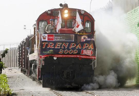Trung Quốc, Brazil và Peru hợp tác xây dựng tuyến đường sắt dài 3.500 kmnối Đại Tây Dương và Thái Bình Dương. Ảnh: REUTERS