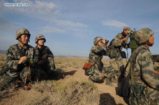 Trung Quốc gần đây không ngừng tăng chi tiêu quốc phòng để hiện đại hóa lực lượng. Ảnh: TÂN HOA XÃ