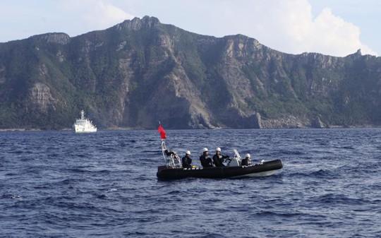 """Nhật Bản tập trận đối phó các đụng độ """"vùng xám"""""""