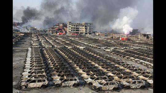 Explosions in China