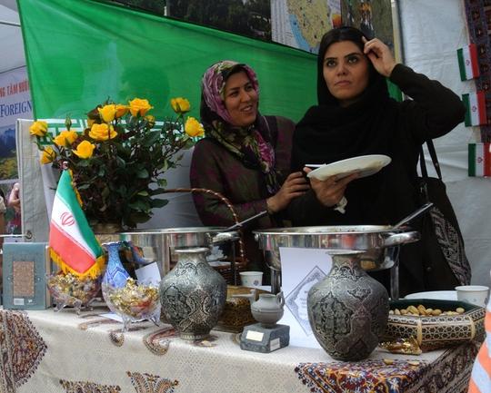 Đại sứ quán Iran với nhiều vật phẩm truyền thống