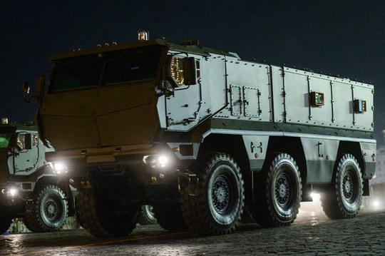 Tổ hợp tên lửa Iskander-M. Ảnh: RIA Novosti