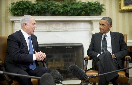 Quan hệ gữa Tổng thống Mỹ Barack Obama (phải) và Thủ tướng Israel