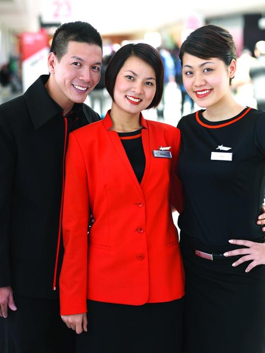 Đồng phục tiếp viên Jetstar Pacific