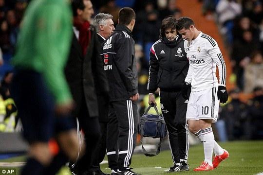 Rodriguez rời sân hôm 5-2