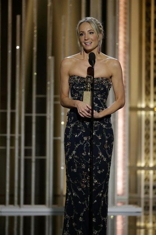 Nữ diễn viên phụ xuất sắc nhất – phim truyền hình: Joanne Froggatt với vai diễn trong phim Downton Abbey. Ảnh: Reuters