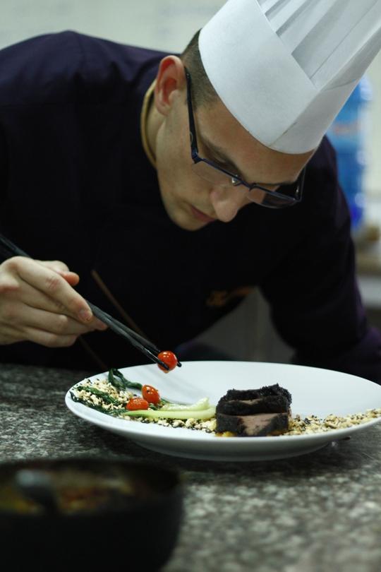 Đầu bếp Kevin Marchetti, nhà hàng Villa Song (TP HCM)