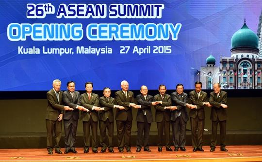 Lãnh đạo các nước tại Hội nghị Cấp cao Cấp cao ASEAN lần thứ 26 - Ảnh: VGP