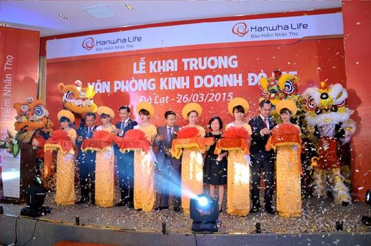 Hình ảnh tại lễ khai trương văn phòng Hanwha Life Việt Nam tại Đà Lạt