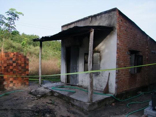 Hiện trường nơi anh Tiếp bị đốt