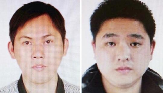 Cảnh sát đã công bố hình ảnh của 2 trong số các nghi phạm. Ảnh: SHANGHAIIST