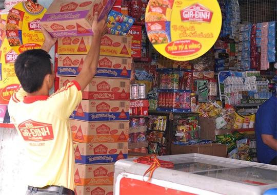 Kinh Đô đặt mục tiêu có mặt trong tốp 3 trên thị trường mì gói Việt Nam.