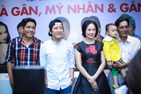 Già gân, mỹ nhân và găng tơ là phim điện ảnh hài do vợ chồng Thanh Thúy- Đức Thịnh sản xuất