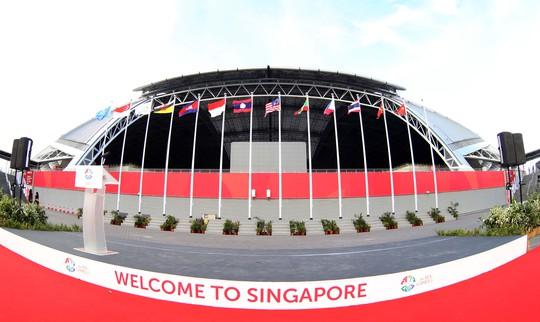 Cờ Việt Nam đã tung bay tại SEA Games 28