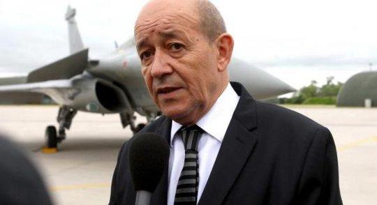 Bộ trưởng Quốc phòng Pháp Jean-Yves Le Drian. Ảnh: Libya Herald