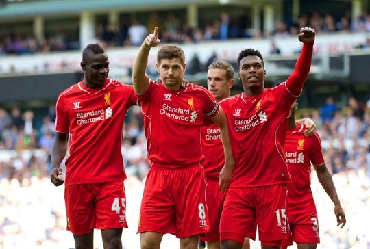 Liverpool từng hạ Tottenham 3 bàn ngay tại White Hart Land