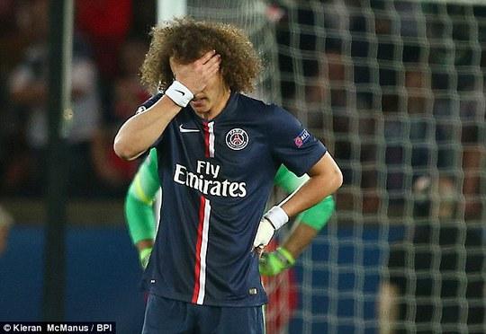 Màn trình diễn đáng thất vọng của Luiz