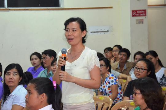 Cung cấp kiến thức chăm sóc sức khỏe cho CNVC-LĐ - Ảnh 1.