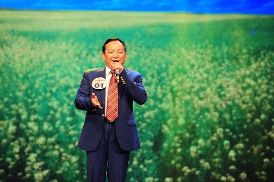 Thí sinh Vũ Văn Quảng vui nhộn với Cung đàn mùa xuân