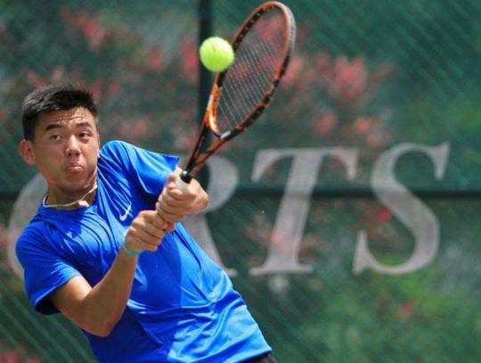 Hoàng Nam tại giải trẻ Malaysia