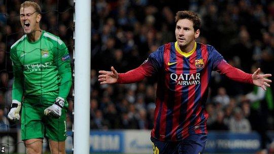 Joe Hart sẽ ngăn được Messi?