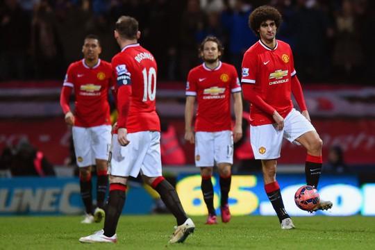 Lối chơi của M.U dần kém hấp dẫn dưới thời Van Gaal.
